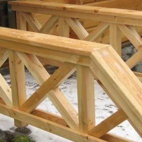 Drewniane bariery