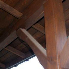 Drewniane podpory