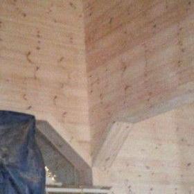Drewniane pomieszczenie